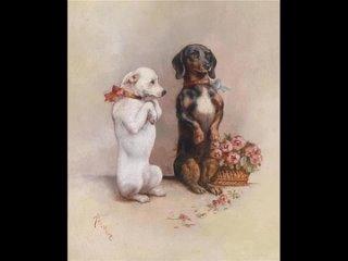 Австрийский художник - анималист Carl Reichert (1836-1918)
