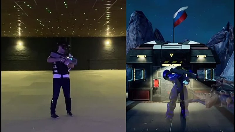 Игра на арене StarCraftVR