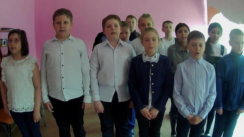 мыпомнимВместе , МБОУ СОШ № 73, 4 В класс, руководитель Анисимова Олеся Николаевна