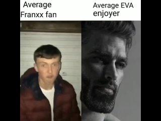 Franxx VS Eva