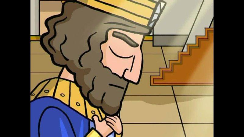 Анимационный мультфильм Библия Ветхий Завет dvd3