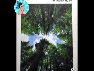 Классная техника рисования