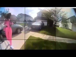 Видео с нагрудной камеры полицейского