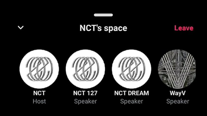 NCT's Space NCT @nct smtown Twitter Space FULL VOICE LIVE REPLAY