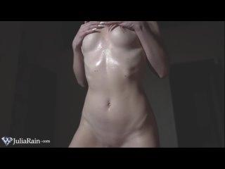 Julia Rain Masturbate and Jerk off Big Dick in Oil - Cumshot [PORN SEX ANAL CREAMPIE BIG TITS ASS TEEN MILF CUM ORAL BLOWJOB]