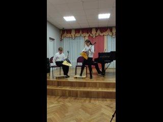 2 класс, отчетный концерт 4