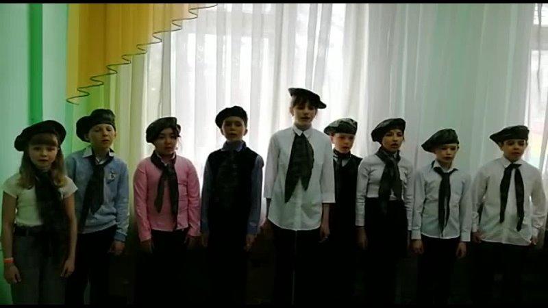 Солдат молоденький. 4 кл. Гайдаренко С.И. муз. рук-ль, Кожина В.Н. кл. рук.