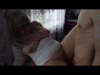 Сын снял как трахает зрелую маму, sex milf mom old mature POV porn incest family