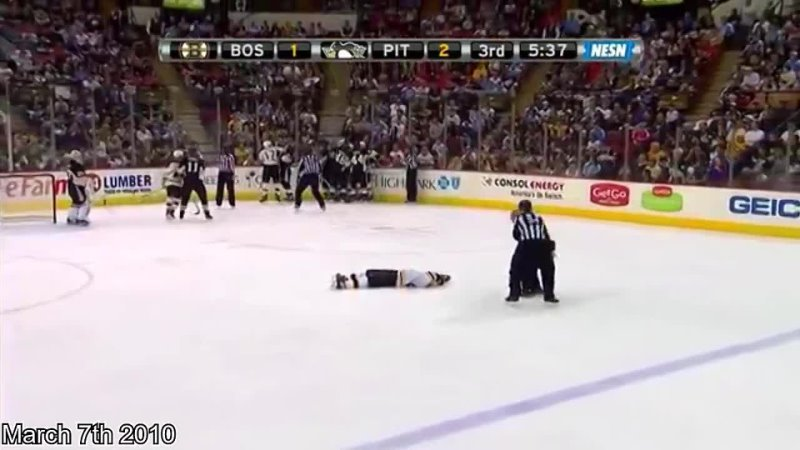 История Мэтта Кука одного из самых грязных игроков НХЛ
