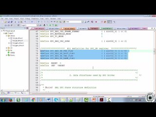 [27.] 1. SPI Register Bit Definitions Macros(Converting register details in to Macros)