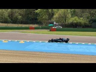 Formula 1 Тесты 18-х дисков в Имоле F1 Lewis Hamilton