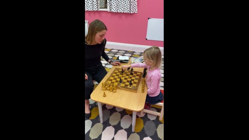 Занятия по шахматам в Бэби-клубе Пушкино