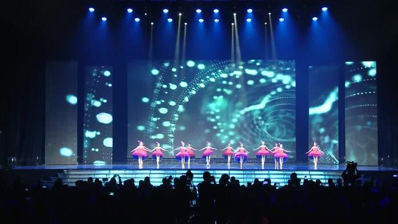 Номер коллектива Yuni_Profi_Dance BRILLIANTS Новороссийск - Райская птица