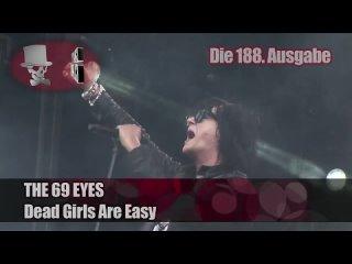 The 69 Eyes - Dead Girls Are Easy (HD) official (Crazy Clip TV) [M'era Luna Festival 2010].