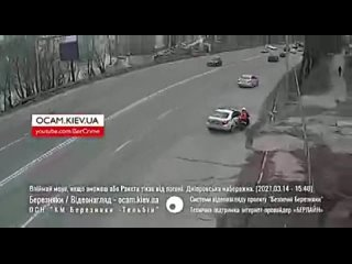Kiev, Delivery guy vs. police.
