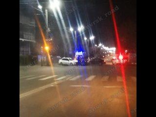 лобовое ДТП ул. Видова - Кутузовская, с участием #такси