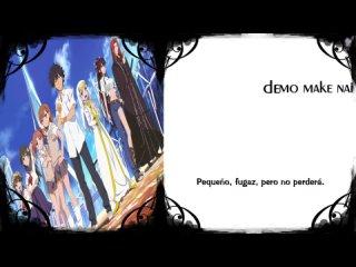 To Aru Majutsu no Index OP2 - Masterpiece [Sub Español + Karaoke]