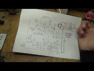AKA KASYAN Зарядное устройство ресурс-1 модернизация (один тиристор вместо двух)