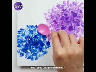 Необычная техника рисования