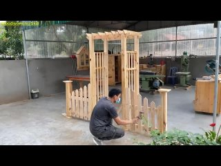 Beautiful Art Ideas For Your Home __ Ways to Build a Strong Fence and Gate