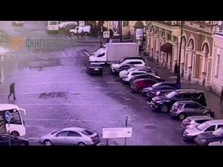 Угон машины в центре Петербурга