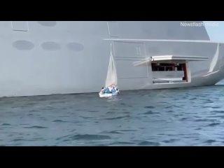 Микро-блог ценителя истории Яхта 140 метров миллиардера Олег Мельниченко Россия.mp4