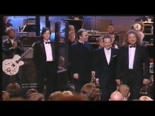 Jon Lord giving Led Zeppelin The Grammy Lifetime Achievement Award 2005