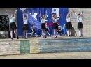 Выступление на 9 мая танец Синий платочек