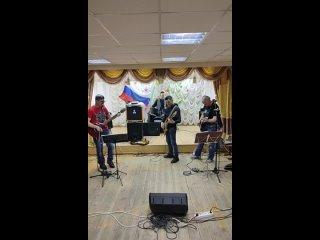 репетиция праздничного концерта в день Защитника Отечества