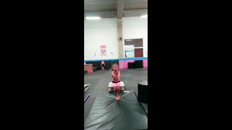 -- Camila Contieri -- on Instagram_ _Hj treinamos saltos no trampolim_ mergulhos e iniciação para estrela sem mãos_ . . . _acad