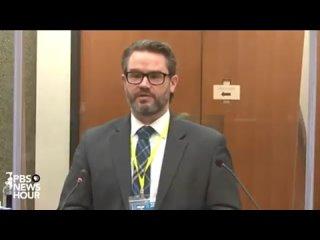 Суд по делу Джорджа Флойда, выступление судмедэксперта 3