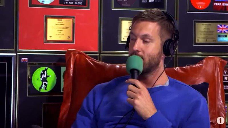 Calvin Harris о голосе Рианны (Nick Grimshaw для BBC Radio 1, 2016)