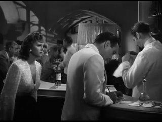 Касабланка (1942) — Где ты был прошлой ночью? — Это было так давно, я не помню.
