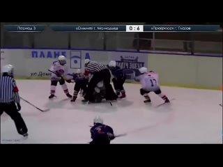 Во время матча между 9-летними хоккеистами из Татарстана (г.Мамадыш) и Удмуртии (Глазов) произошла массовая драка