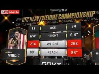 UFC 260: стипе миочич vs фрэнсис нганну 2 полный бой с битом !!!