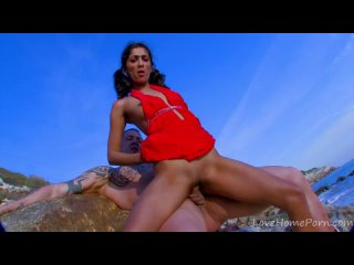 Indiana Fox , skinny indian babe fucking with Rob Diesel at the beach  Big Boobs Tits Ass Babe Good Hard Sex Female Amateur Porn