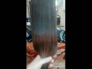Ботокс волос для прекрасной Анюты❤️