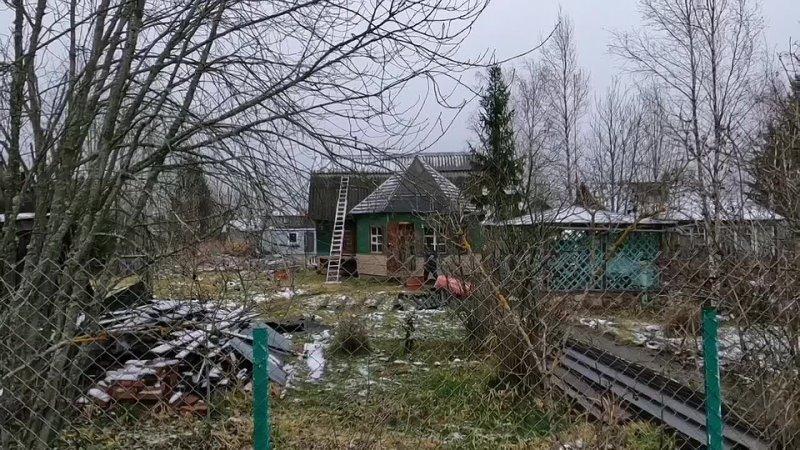 Замена фундамента под деревянным домом на свайно винтовой