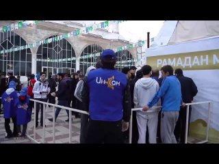По инициативе благотворительного фонда «Инсан» самый масштабный «Шатёр Рамадана» в Дагестане