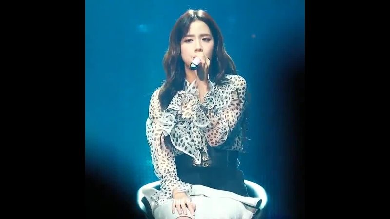 Miss kim jisoo serving her visuals and vocals on stage as always