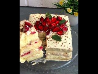 Вкусный торт из простых продуктовИнгредиенты: Бисквит6 яицСтакан сахараСтакан муки1 чайная ложка разрыхлителяПо желани
