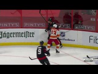 NHL 20/21, RS. Calgary Flames - Ottawa Senators [, Setanta Sports HD]