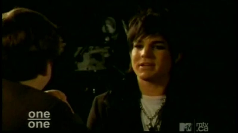 2010 02 01 MTV Canada Paul the Intern and Adam Lambert