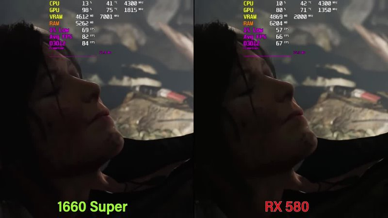 GTX 1660 Super vs RX 580 Test with Latest Drivers 2