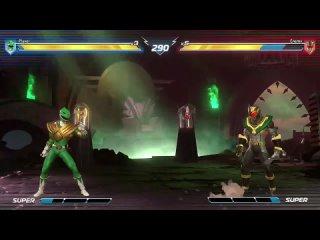 прохождение игры Могучие рейнджеры с разными героями из разных сериалов битвы и сражения