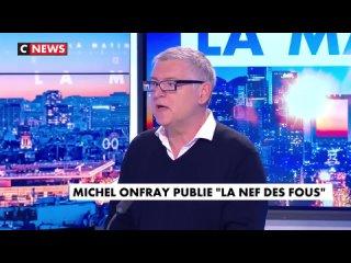 """Michel Onfray : """"Moi, je suis vacciné, je veux bien qu'il y ait un pass, ça me parait normal"""" Et ça se prétend philosophe !🤧"""