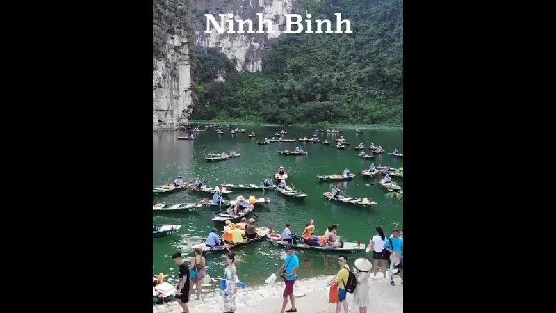 НиньБинь Вьетнам🇻🇳 Ninh Binh Vietnam это одна из самых красивых провинций северного Вьетнама Она богата и знаменита своим
