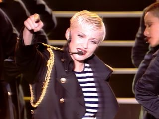 Madonna - Holiday (The Girlie Show Live) from Japanise Laserdisc