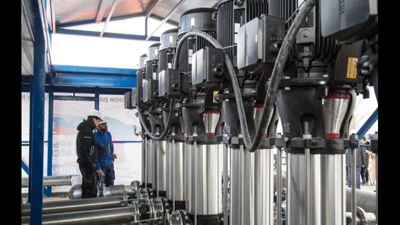 На водопроводе в оккупированном Крыму заметили оборудование Siemens