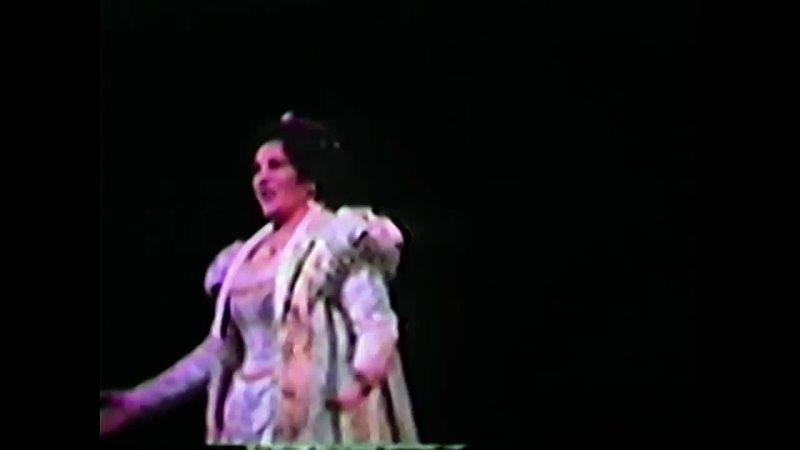 Ghena Dimitrova Recitativo Aria Cabaletta from Ernani General Rehearsal Dallas Opera 1981